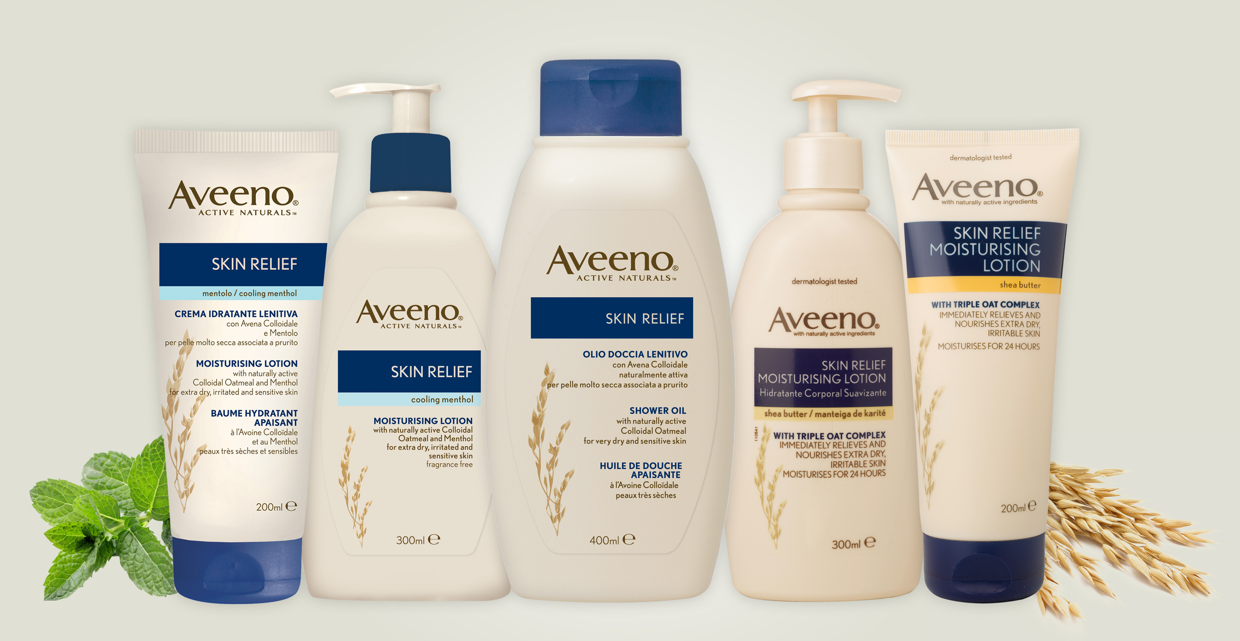 Picture of Skin Relief Range Banner